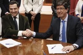 PP y Cs firman el acuerdo de investidura en Andalucía a la espera del apoyo de Vox