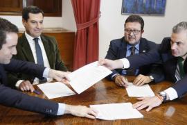 Los 37 puntos del acuerdo de PP y Vox para desbloquear la investidura de Juanma Moreno