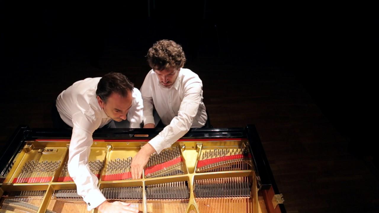 «¿Que si sabemos tocar el piano? Pues al final sí, sabemos»