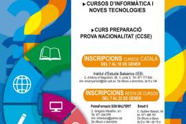 Cort abre la inscripción para los cursos de adultos