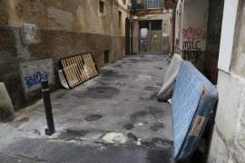 Unos 200 indigentes sufrirán las heladas en las calles de Mallorca