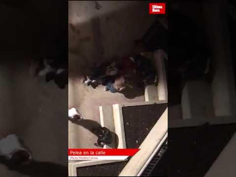 Una nueva pelea en la plaza Mediterráneo enciende a los vecinos