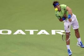 Rafa Nadal arrolla a Gremelmayer y  se mete en los cuartos de final de Doha