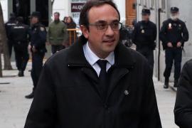 Josep Rull obtuvo un permiso de urgencia para visitar a su hijo hospitalizado