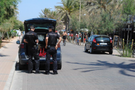 Cuatro detenidos por violentos atracos en Palma