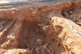 Localizan en la fosa de Llucmajor los restos de tres represaliados de la Guerra Civil