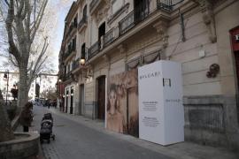 Bulgari se prepara para abrir una nueva tienda en Palma