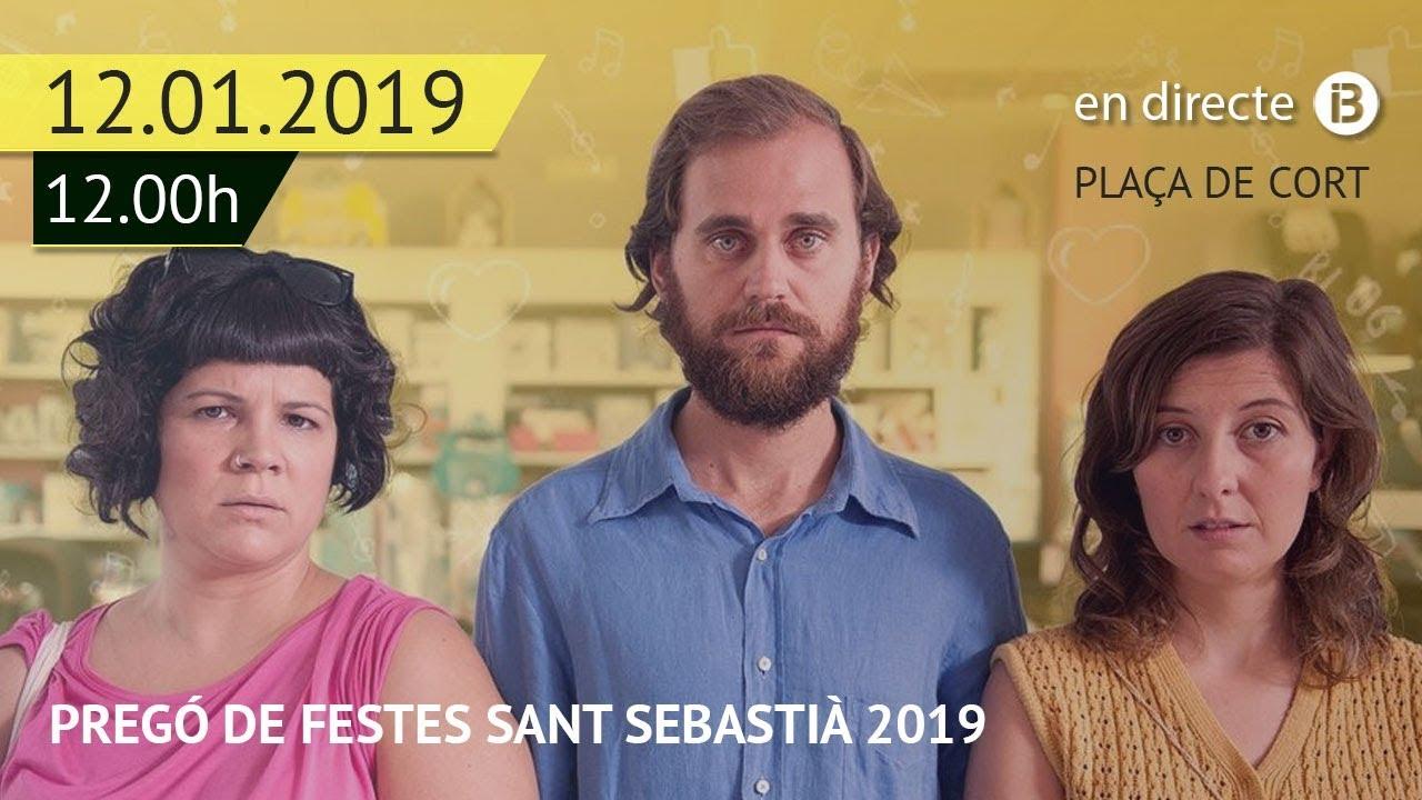 El pregón de Sant Sebastià 2019, muy reivindicativo