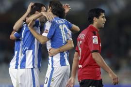 El Mallorca derrama la Copa entre sonrojos