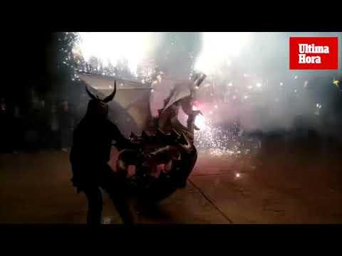 Palma cuenta este Sant Antoni con una nueva 'bèstia de foc'