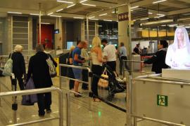 Un vigilante denuncia una agresión por parte de su jefe en el aeropuerto de Palma