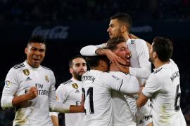 Un gol de Ceballos salva al Real Madrid y deja frío al Betis