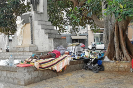 Un total de 78 personas 'sin techo' se han empadronado en Palma en 2 años
