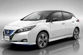 El nuevo Nissan LEAF e+, presentado en Tokio y en Las Vegas