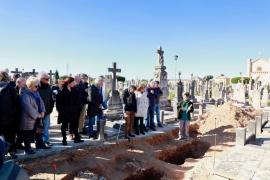 Armengol dice que las exhumaciones honran a quienes «perdieron la vida por sus ideas»