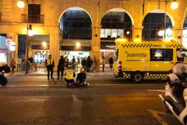 Herida grave una mujer al ser atropellada por un motorista en Palma