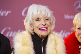 Fallece Carol Channing, estrella del musical de Broadway 'Hello Dolly!'