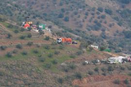Hallan restos biológicos de Julen en el pozo de Málaga