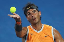 Nadal fulmina a Ebden y se cita en tercera ronda con De Miñaur