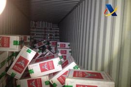 Cárcel para una red de contrabando de tabaco que operaba a través de Baleares