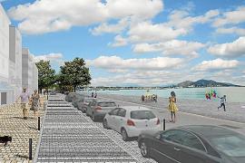 Alcúdia estrenará una nueva fachada marítima más peatonal