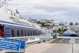 Un nuevo buque de alta velocidad cubre el trayecto entre las Pitiusas en 25 minutos