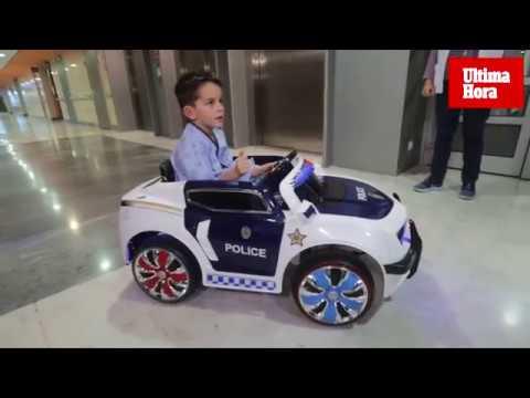 Son Espases estrena dos coches eléctricos para los niños ingresados