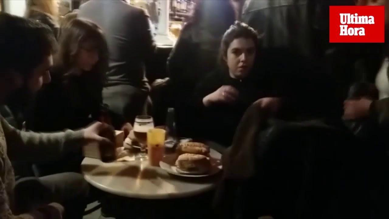 Una veintena de bares de Palma se sumaron a la 'llonguetada' popular