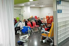 El IB-Salut atiende 28.289 urgencias en una semana, con 1.616 casos de gripe