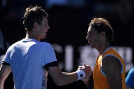 Nadal confirma su excelencia contra Berdych y va contra Tiafoe en cuartos