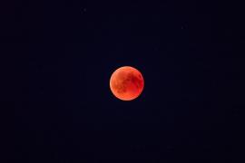 ¿Por qué no debes perderte la 'luna de sangre de lobo'?