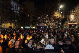 Más de 30.000 personas disfrutaron de la Revetla en Palma