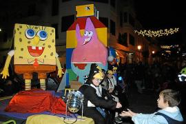 Susto en la Cabalgata de Reyes de Inca, en la que 'Minnie' resultó  herida leve