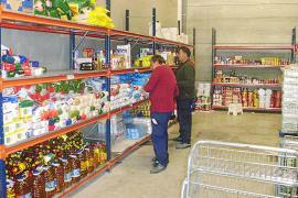 El Banco de Alimentos balear cubrió las necesidades de 42.000 personas en 2011