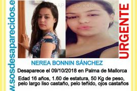 Piden ayuda para localizar a una menor desaparecida