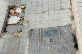 """Epic Ibiza lamenta el """"mal estado"""" de la calle Ramón Muntaner"""