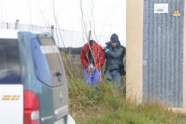 Vuelven a buscar en Muro al hombre desaparecido en sa Pobla en presencia del detenido