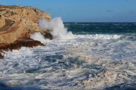 Baleares estará en alerta este miércoles por vientos y fuerte oleaje