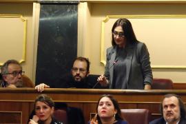 Sol Sánchez, sustituta de Errejón en el Congreso, promete la Constitución «por imperativo legal»