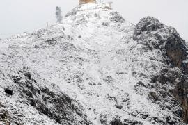 Baleares, de nuevo en alerta por nieve y viento