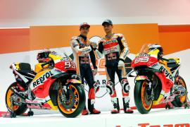 Márquez y Lorenzo, el equipo Repsol Honda más ilusionante