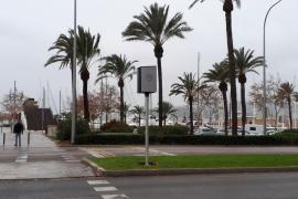 Tres nuevos puntos fijos de control de velocidad con radar móvil en Palma
