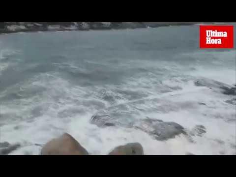 El viento ya sopla con fuerza en el sur de Mallorca