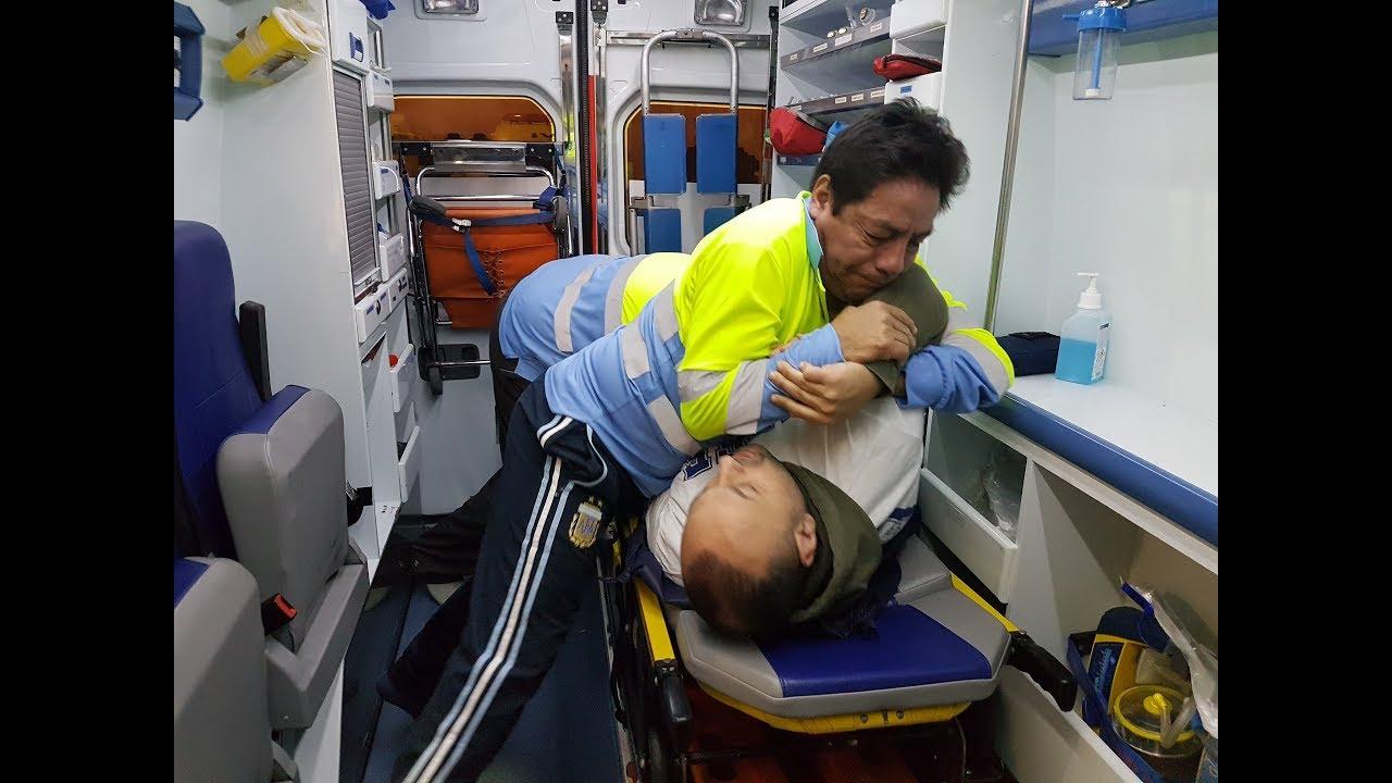 «Atender a un paciente borracho en Punta Ballena es como ir a la guerra»