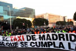Los taxistas de Madrid mantendrán la huelga hasta lograr una solución