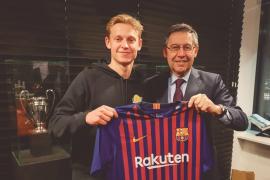 El Barça ficha a Frenkie de Jong