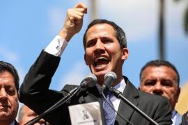 El jefe del Parlamento de Venezuela se proclama presidente interino