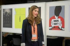 Una de las principales activistas contra la pena capital, en el Club Ultima Hora