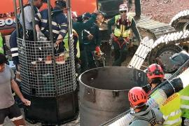 Así están trabajando los mineros para llegar hasta Julen