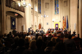 Armengol inaugura el curso académico de la Real Academia de Medicina de Baleares